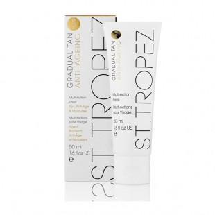 St Tropez Gradual Tan PLUS Anti-Ageing Face Lotion 50ml