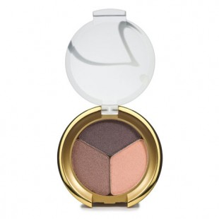 Jane Iredale PurePressed Eye Shadow Triple - Brown Sugar 2.8g