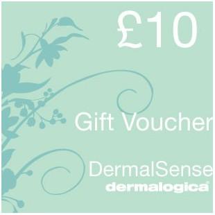 £10 dermalogica gift voucher
