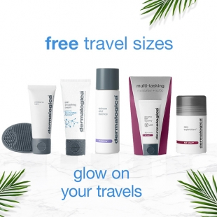 4 Free Dermalogica Travel Sizes worth up to £72